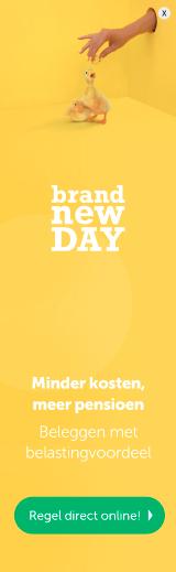 Brand New Day beleggen voor pensioen